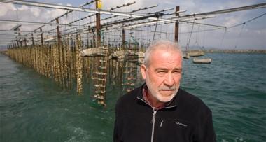 Ramon Carles Gilabert, productor de mejillones en el Delta del Ebro.